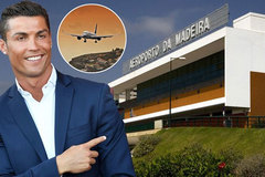 Cristiano Ronaldo sắp có sân bay mang tên mình