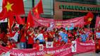 Người Việt 'nhuộm đỏ' Seoul, biểu tình phản đối TQ