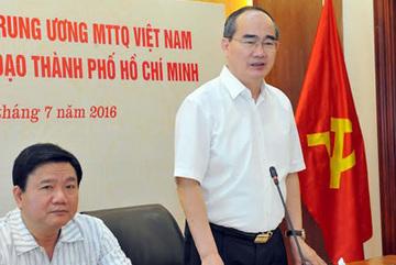 2 ủy viên Bộ Chính trị bàn đưa TP.HCM thành đô thị thông minh