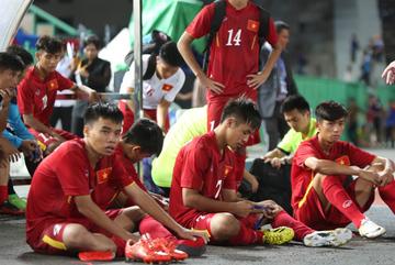 U16 Việt Nam, đừng khóc!