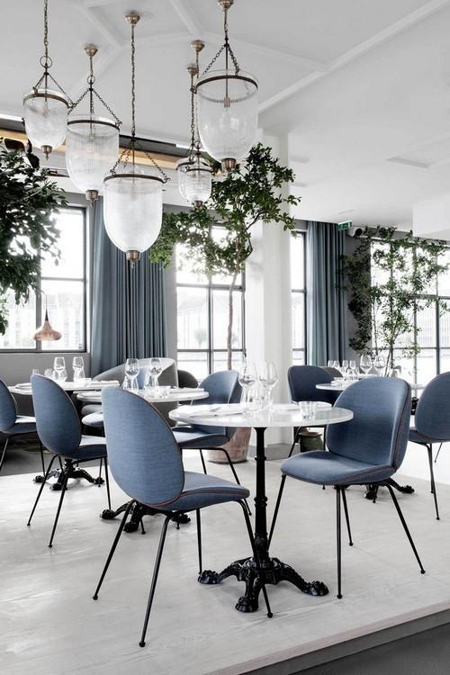 Ngẩn ngơ trước những phòng ăn mát lịm nhờ trang trí bằng cây xanh