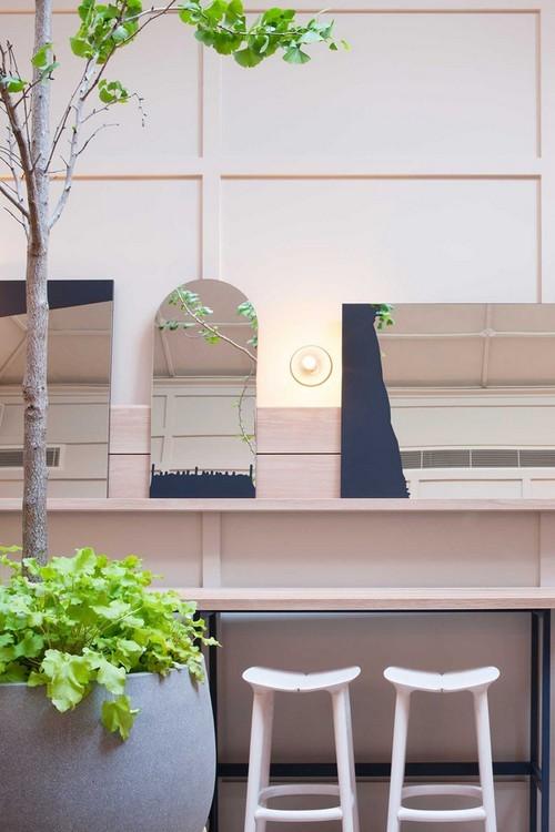 thiết kế phòng ăn, mẫu phòng ăn đẹp, trang trí phòng ăn bằng cây xanh