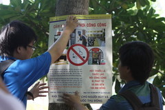 Thi viết phòng, chống tác hại của thuốc lá 2016