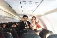 Những màn rước dâu bằng máy bay gây sốt