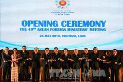 Ngoại trưởng ASEAN ra tuyên bố hết sức quan ngại về Biển Đông
