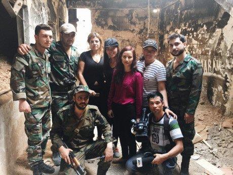 Ký sự Syria, VTV, Lê Bình, truyền hình