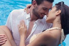 Bộ ảnh cưới mặc bikini 'không thể nóng hơn' của Hà Anh