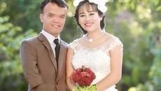 Ảnh cưới của chú rể lùn và cô dâu xinh đẹp tại Thanh Hoá