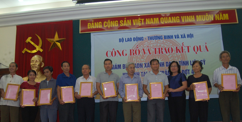 Xác định danh tính 99 liệt sĩ hy sinh tại Lào