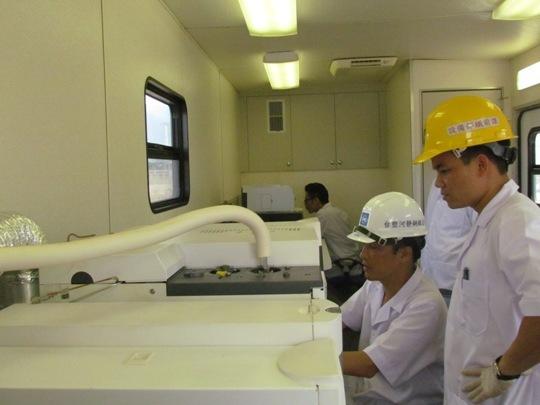 Lắp trạm kiểm định môi trường di dộng tại Formosa
