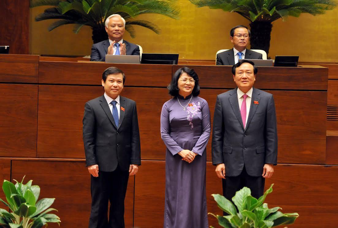 Chánh án TANDTC Nguyễn Hòa Bình tuyên thệ lần hai