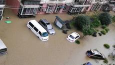 Những hình ảnh lũ lụt khủng khiếp ở TQ