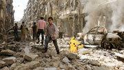 Săn Pokemon ở cả... chiến trường Syria