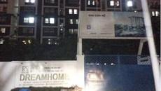 Sập giàn giáo dự án Dream Home Luxury, 3 người thương vong