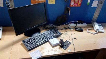 Điện thoại TQ bất ngờ phát nổ trong khi đang dùng