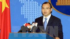 Phản đối quan chức Đài Loan ra đảo Ba Bình