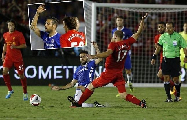 """Chơi xấu, Fabregas đến xin lỗi HLV Klopp và """"nạn nhân"""""""