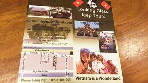 Công ty Việt Nam dùng hàng ngàn tờ rơi có 'China Beach'