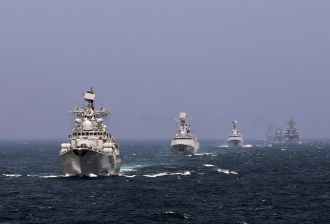 Nga – Trung chuẩn bị tập trận trên Biển Đông
