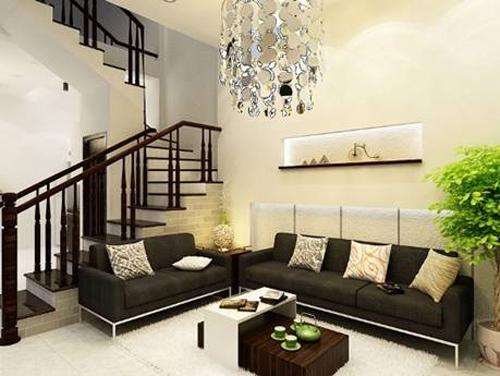 bài trí phòng khách, nội thất phòng khách, bố trí phòng khách hút tài lộc