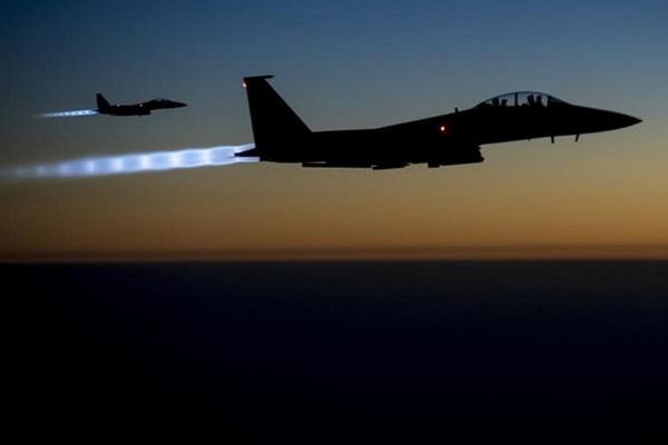 Xem liên quân san phẳng các vị trí chiến thuật IS
