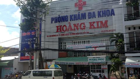 phòng khám, bệnh trĩ, phòng khám đa khoa Hoàng Kim, bác sĩ Trung Quốc, không phép