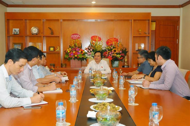 Viện Nghiên cứu cao cấp về Toán, VIASM, GS Ngô Bảo Châu, Bộ trưởng Phùng Xuân Nhạ