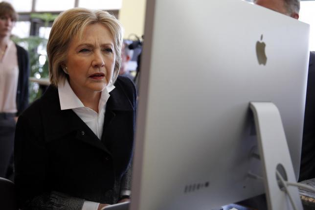 Tin tặc tấn công chiến dịch tranh cử của Hillary