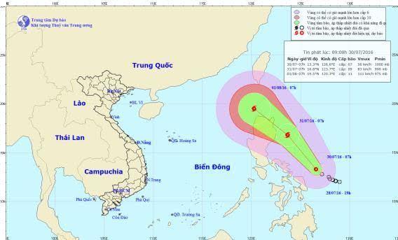 Bão số 1, tin bão, tin bão mới nhất, cơn bão số 1, áp thấp nhiệt đới