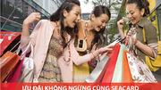'Đại tiệc' khuyến mãi cho chủ thẻ quốc tế SeABank