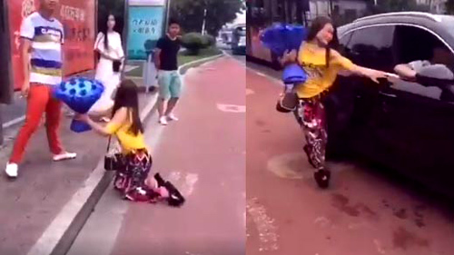10 clip 'nóng': Màn diễn xiếc khiến người xem nghẹt thở