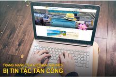 Khách hàng Vietnam Airlines cần làm gì sau vụ website bị hack?