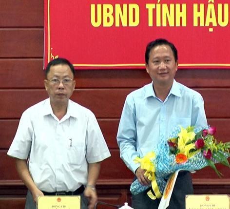 Trịnh Xuân Thanh, phó chủ tịch Hậu Giang, phó chủ tịch đi Lexus biển xanh, Đinh Duy Hòa, lỗ hổng nhân sự, tham nhũng, hối lộ, chạy chức