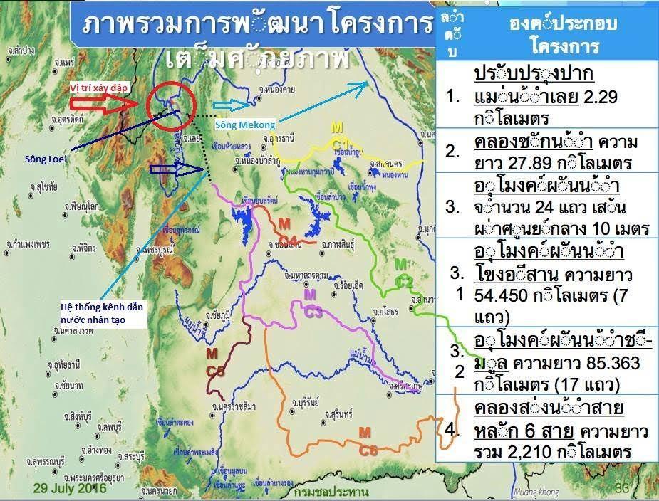 'Siêu dự án' đe dọa đồng đất phương Nam