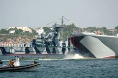 Nga phô diễn sức mạnh hải quân