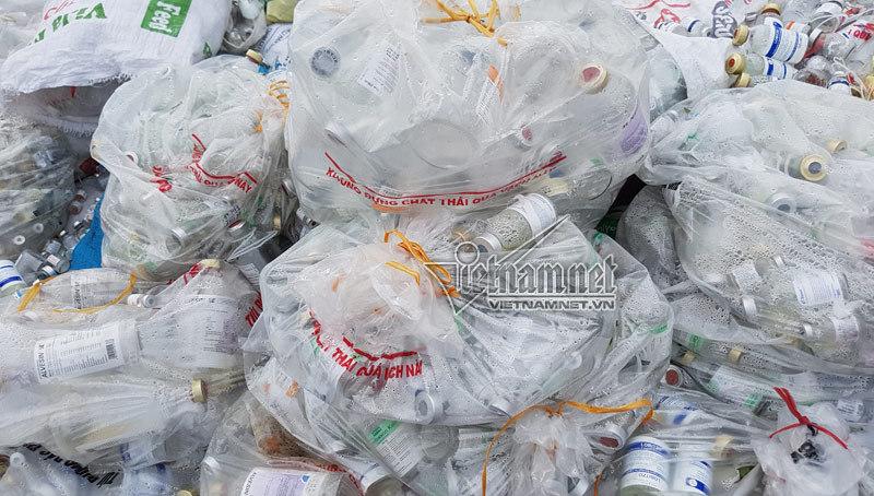 rác thải y tế, làng ung thư, làng nghế tái chế