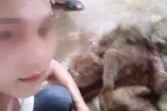 Tung ảnh giết khỉ trên Facebook khoe 'chiến tích'