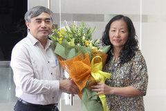 Bà Nguyễn Vũ Hồng Thanh được giao phụ trách Vụ Bưu chính
