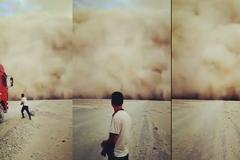 Xem bão cát kinh hoàng như ngày tận thế
