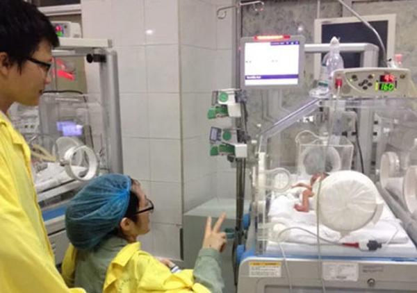 ung thư giai đoạn cuối, bệnh nhân ung thư sinh con, Trần Gấu, Đậu Thị Huyền Trâm