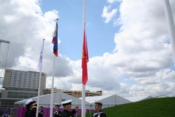 Xúc động nhìn cờ Việt Nam tung bay tại Olympic 2016