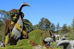 Ngất ngây vườn bách thảo có '1-0-2' ở Canada