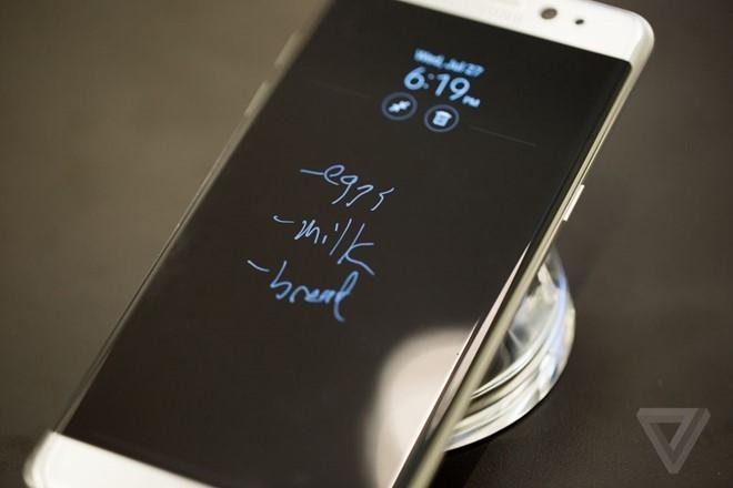Samsung Galaxy Note 7, quét võng mạc, bút S-Pen, chuẩn IP68, kết nối USB Type C, màn hình HDR, Note 7