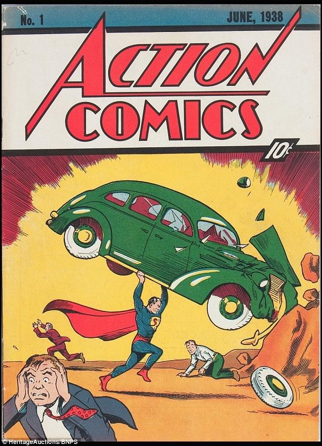 Action Comics, Superman, truyện tranh, siêu nhân