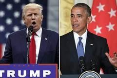 Obama và Trump khẩu chiến gay gắt