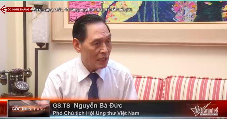 Ăn gì cũng chết, người Việt mắc ung thư nhanh nhất thế giới