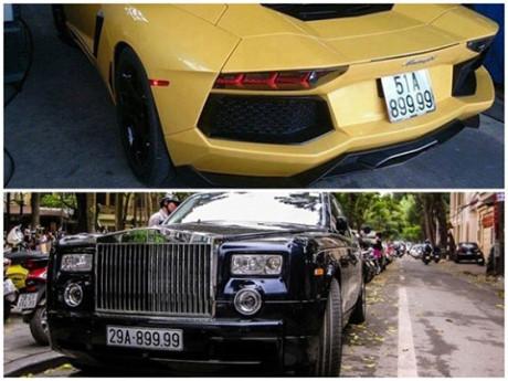 siêu xe, biển số 'khủng', thú chơi, xe sang, đại gia Việt, ô tô, biển đẹp, biển xanh, xe máy