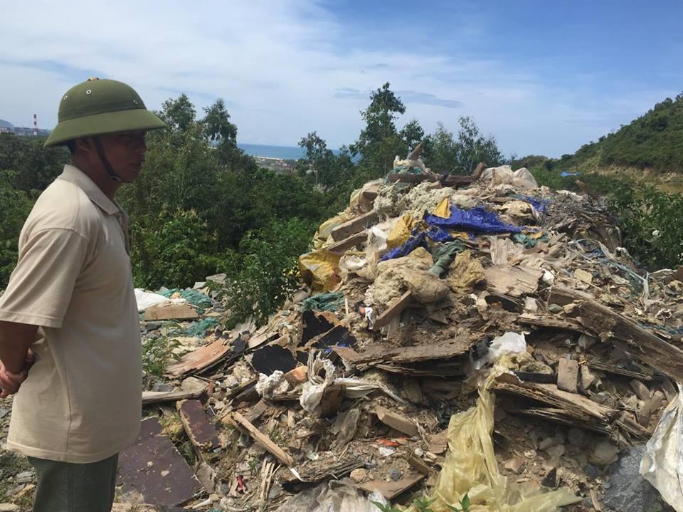 Tiếp tục phát hiện bãi rác thải nghi của Formosa