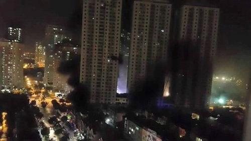 cháy chung cư, an toàn cháy nổ chung cư, chung cư của đại gia Lê Thanh Thản
