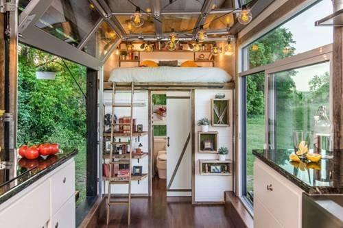 thiết kế nhà, nhà 18m2, trang trí nhà, nhà đẹp, nội thất thông minh